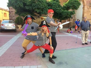 las piratas esgarramantas